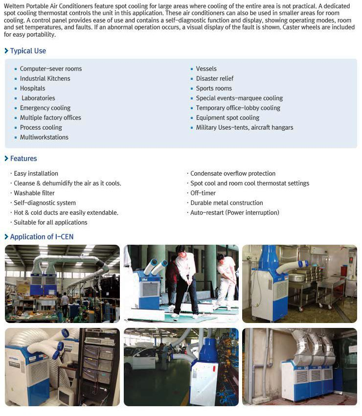 Portable Air Conditioner - HPC-6000 50Hz_Project Info