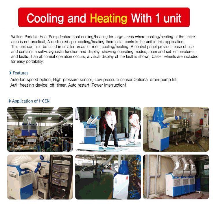 Portable heat pump - WPH-4000_info