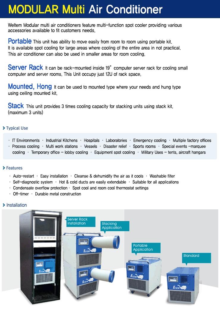 WMC-2500 - Portable Aircon Conditioner_Project info